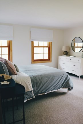 Oak Bluffs, Meadow View Farms Martha's Vineyard vacation rental - BR1, first floor, en-suite queen bedroom