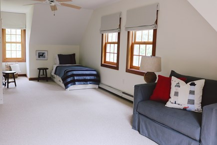 Oak Bluffs, Meadow View Farms Martha's Vineyard vacation rental - BR 2, 4th bed (sleepsofa) folded up