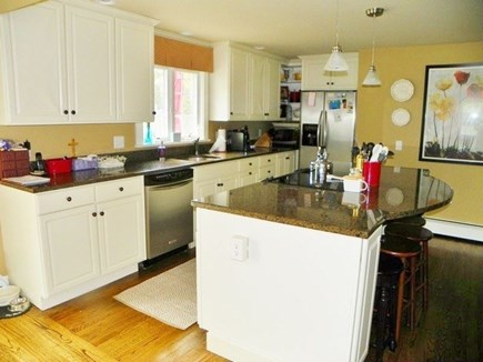 Katama - Edgartown Martha's Vineyard vacation rental - Kitchen - well equipped and open to both dining & living areas!