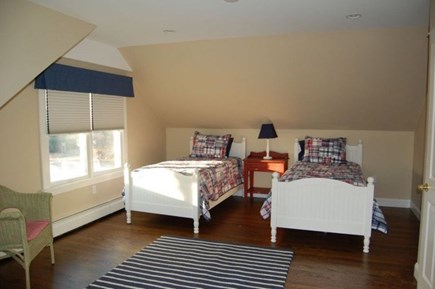 Katama - Edgartown Martha's Vineyard vacation rental - Upstairs bedroom - large and spacious, plenty of room for guests!