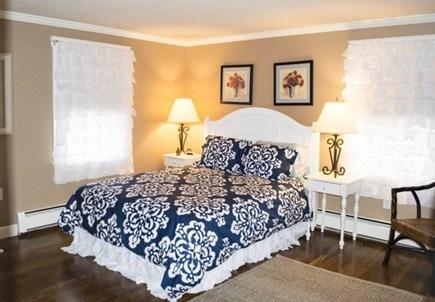 Katama - Edgartown Martha's Vineyard vacation rental - Queen size bedroom on the first floor - ample closet space
