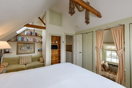 Oak Bluffs Martha's Vineyard vacation rental - Beautiful queen bedroom with reading and meditation nooks