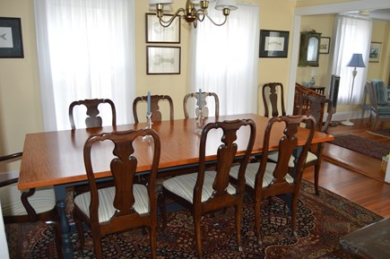 Downtown Oak Bluffs Martha's Vineyard vacation rental - Formal dining room
