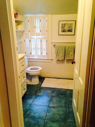 Oak Bluffs Martha's Vineyard vacation rental - Master bathroom has full tub and shower.