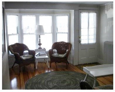 Oak Bluffs Martha's Vineyard vacation rental - Sitting area with couch and Cable TV.
