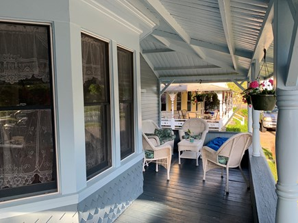 Oak Bluffs Martha's Vineyard vacation rental - The front porch is great for relaxing.