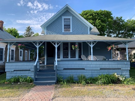 Oak Bluffs Martha's Vineyard vacation rental - Front view of house, on Tuckernuck Ave.
