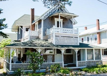Oak Bluffs, Narragansett Cottage Martha's Vineyard vacation rental - Charming Victorian with wrap-around porch & water views