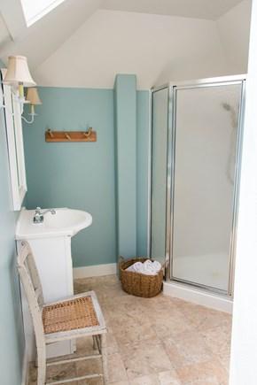 Oak Bluffs, Narragansett Cottage Martha's Vineyard vacation rental - 1st floor bathroom (shower)