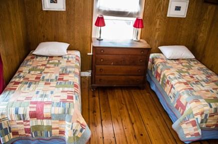 Oak Bluffs, Narragansett Cottage Martha's Vineyard vacation rental - Bedroom 6 (2nd floor): 2T, private staircase down to kitchen