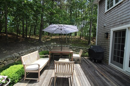 Vineyard Haven Martha's Vineyard vacation rental - Rear private deck