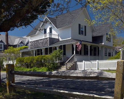 Oak Bluffs Martha's Vineyard vacation rental - Front of the House