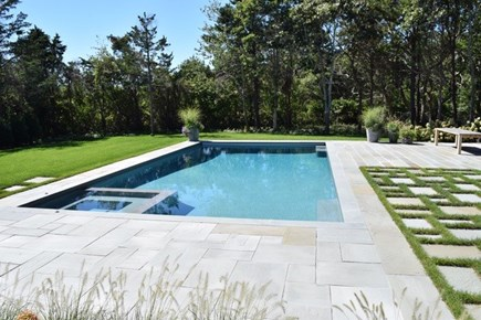 Edgartown, Nora's Meadow Martha's Vineyard vacation rental - Photo is of asimilar pool being installed for the Summer of 2021.
