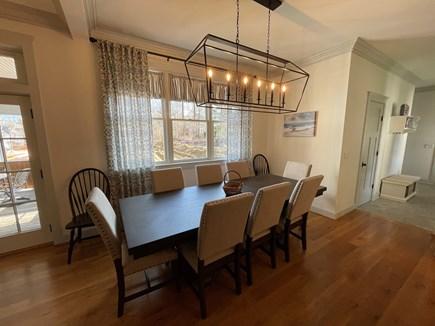 Edgartown, Nora's Meadow Martha's Vineyard vacation rental - Elegant Table for indoor dining.