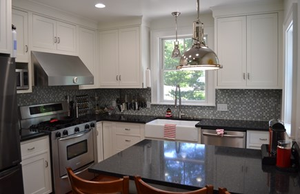 Oak Bluffs, East Chop Martha's Vineyard vacation rental - Well-appointed, compact kitchen.