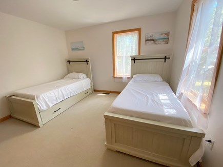 Oak Bluffs Martha's Vineyard vacation rental - Bedroom 2 offers twin beds w/ storage under beds and large closet