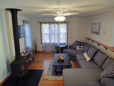 Oak Bluffs Martha's Vineyard vacation rental - Abundance of sunshine showers this living room. Boasts SmartTV.