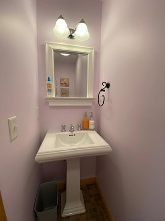 Oak Bluffs Martha's Vineyard vacation rental - Half bath located on 1st floor is convenient for invited guests.