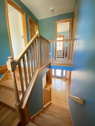 Oak Bluffs Martha's Vineyard vacation rental - Stairwell view from 1st to 2nd floor.