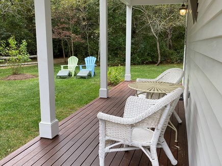 Katama - Edgartown Martha's Vineyard vacation rental - Front Porch