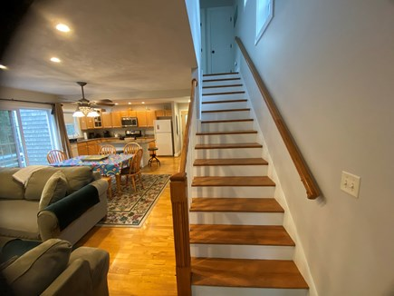 Katama - Edgartown Martha's Vineyard vacation rental - Stairway to the Second Floor