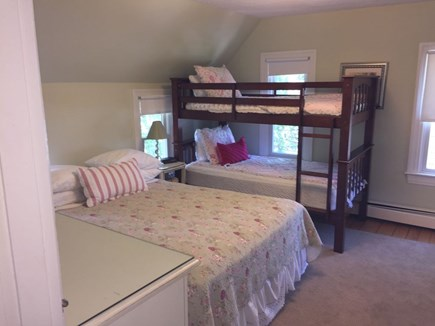 Oak Bluffs Martha's Vineyard vacation rental - Bedroom #3  -Queen Bed, Bunk Bed, & A/C