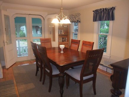 Oak Bluffs Martha's Vineyard vacation rental - Dining Room with Seating for 8