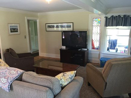 Oak Bluffs Martha's Vineyard vacation rental - Living Room with Plenty of Seating and Cable TV