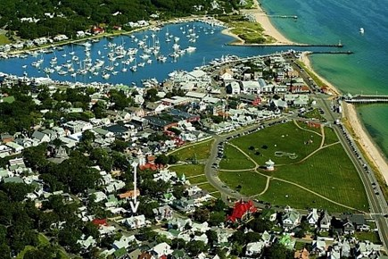 Oak Bluffs Martha's Vineyard vacation rental - Picture Showing our home relative to the surrounding area