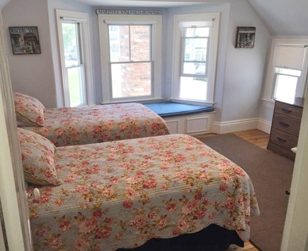 Oak Bluffs Martha's Vineyard vacation rental - Bedroom #2 - Two Twin Beds & A/C