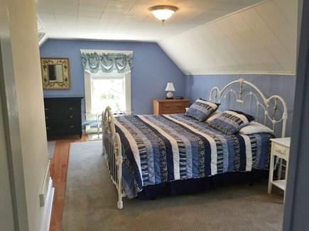 Oak Bluffs Martha's Vineyard vacation rental - Master Bedroom w/ Private Balcony