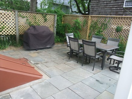 Oak Bluffs Martha's Vineyard vacation rental - Private Back Patio w/ Grill & Table