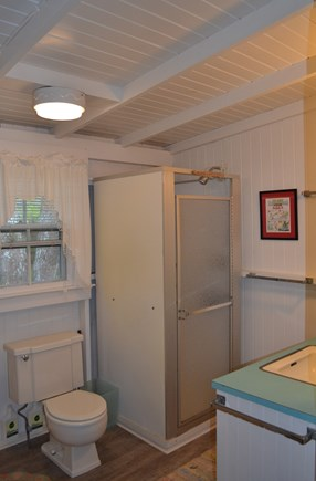 Oak Bluffs, Harthaven Martha's Vineyard vacation rental - Cottage bathroom.  There is also an outdoor shower.
