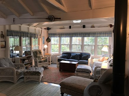 Oak Bluffs, Harthaven Martha's Vineyard vacation rental - Bright and Comfortable Living Room.