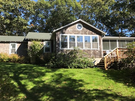 Oak Bluffs, Harthaven Martha's Vineyard vacation rental - The back of the home overlooks a private and peaceful yard.