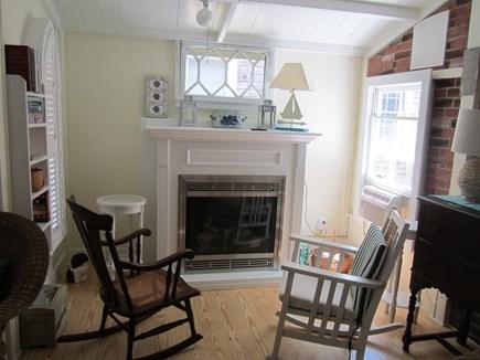 Oak Bluffs, Copeland District Martha's Vineyard vacation rental - Beautiful fireplace