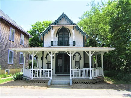 Oak Bluffs, Copeland District Martha's Vineyard vacation rental - Front view with beautiful Victorian porch