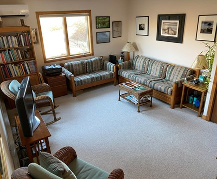 West Tisbury Martha's Vineyard vacation rental - Comfortable den with TV specifically  for all guests