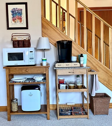 West Tisbury Martha's Vineyard vacation rental - Den beverage and snack area is always available
