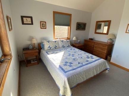 West Tisbury Martha's Vineyard vacation rental - Bright Queen Bedroom with queen sized bed, memory foam mattress