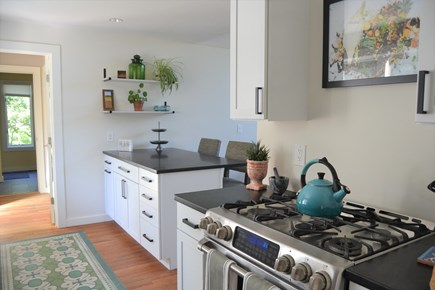 West Tisbury Martha's Vineyard vacation rental - Kitchen with gas stove top