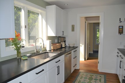 West Tisbury Martha's Vineyard vacation rental - Kitchen with granite countertops