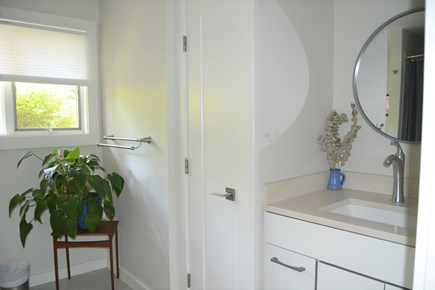 West Tisbury Martha's Vineyard vacation rental - Shared bathroom with bathtub and shower