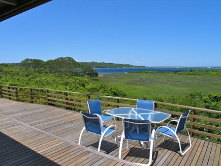 Chilmark, Martha's Vineyard Martha's Vineyard vacation rental - Expansive 2-level deck