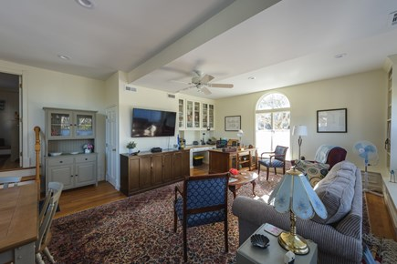 Katama - Edgartown Martha's Vineyard vacation rental - Spacious step down studio great for work at home and for dining