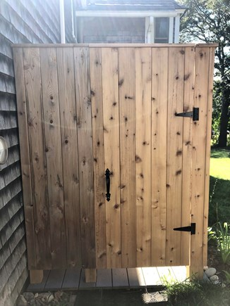Oak Bluffs Martha's Vineyard vacation rental - New spacious outdoor shower