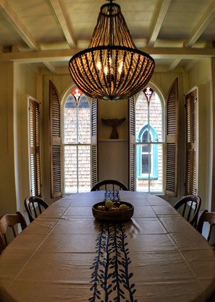 Oak Bluffs Martha's Vineyard vacation rental - Large dining table