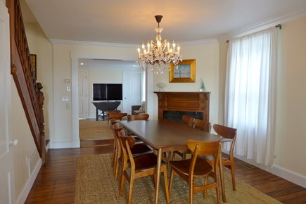 Oak Bluffs Martha's Vineyard vacation rental - Dining area off the living room