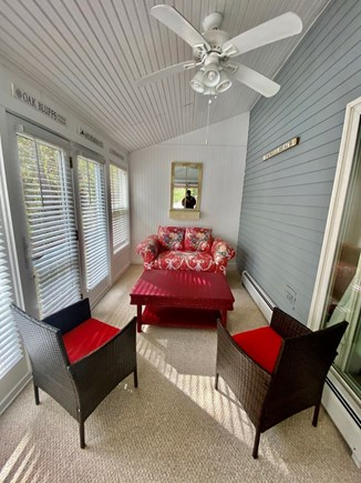 Oak Bluffs Martha's Vineyard vacation rental - Sun Room accessible from kitchen and porch
