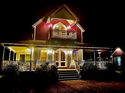 Oak Bluffs Martha's Vineyard vacation rental - Wrap around porch is breathtaking at night